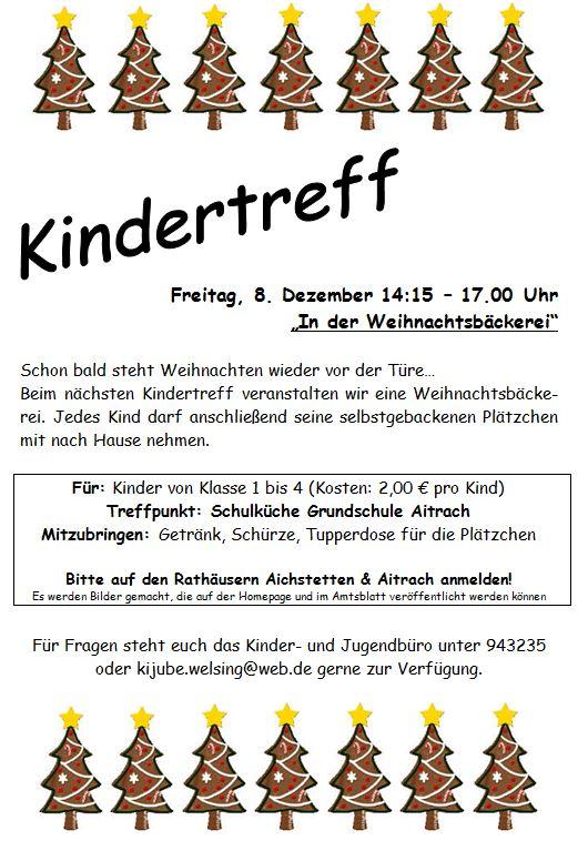 Kindertreff - Gemeinde Aitrach